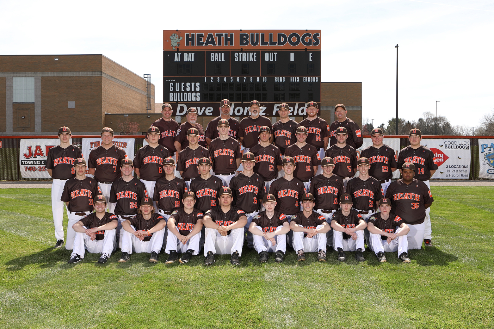 HHS Baseball Team 2021