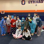 Varsity Gymnastics Competes at Oswego