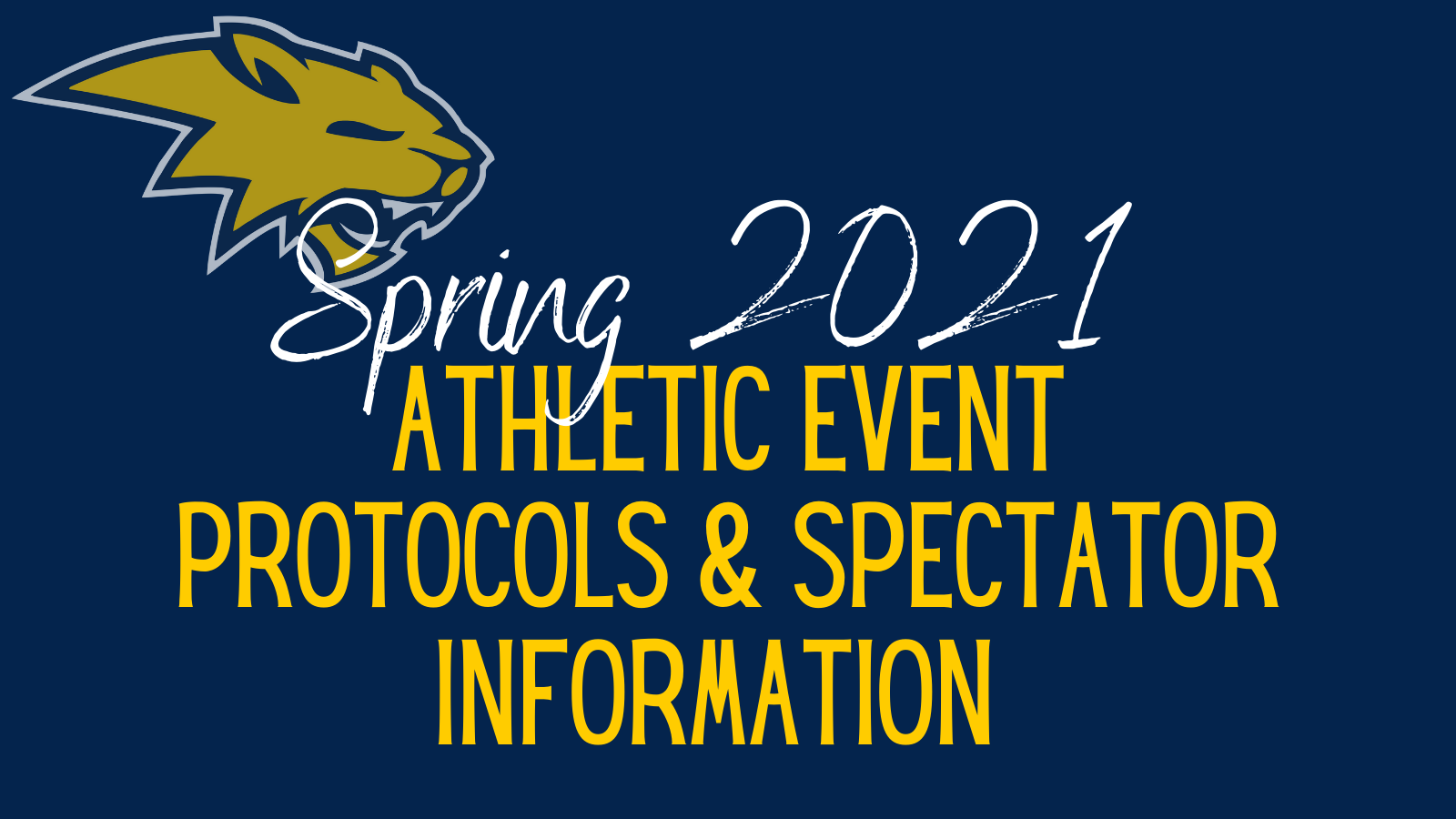 Spring Event Protocols and Spectator Information