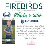 Athletes in Action – Celebrating Bridey S.!