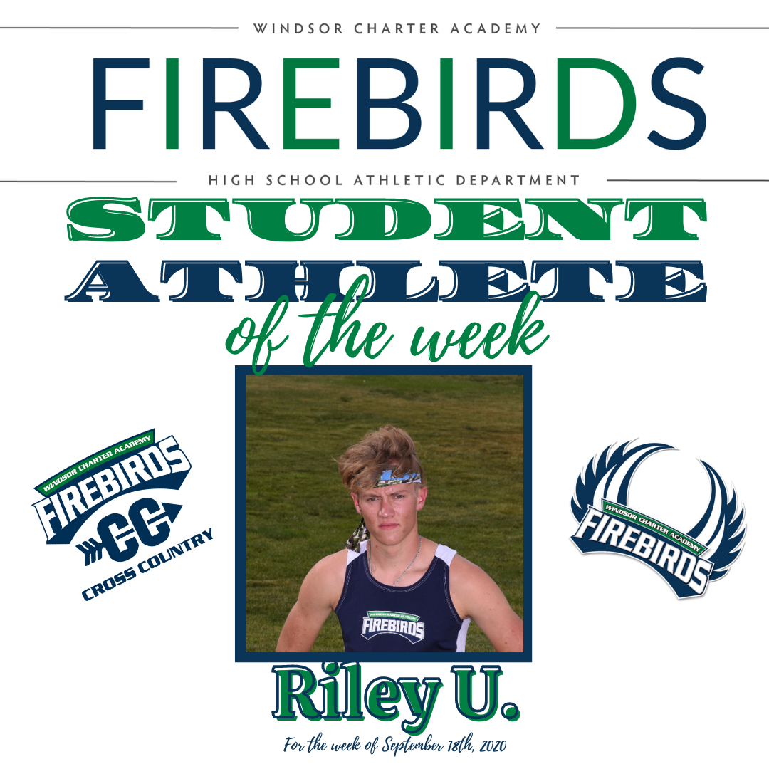 Firebirds Student-Athlete of the Week – September 18th, 2020