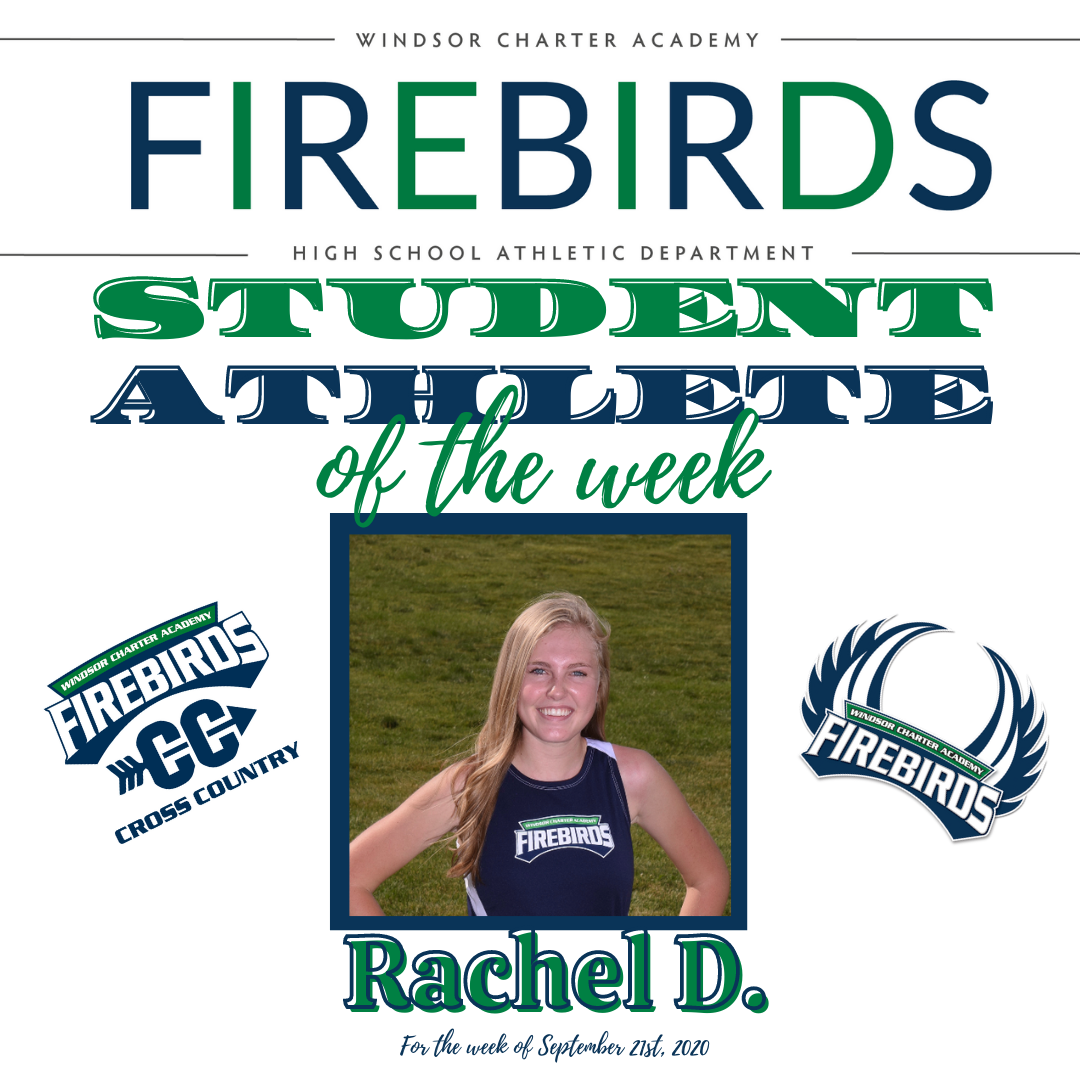 Firebirds Student-Athlete of the Week – September 25th, 2020