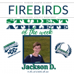 Firebirds Student-Athlete of the Week – October 5th, 2020