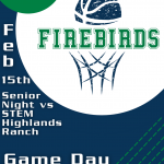 Boys Basketball Senior Night Game Day Program 2/15/21