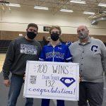 Bulldogs win 26th dual and Frazier gets 100th win