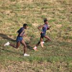 Olathe North Cross Country Competes in Inaugural Battle of the Birds