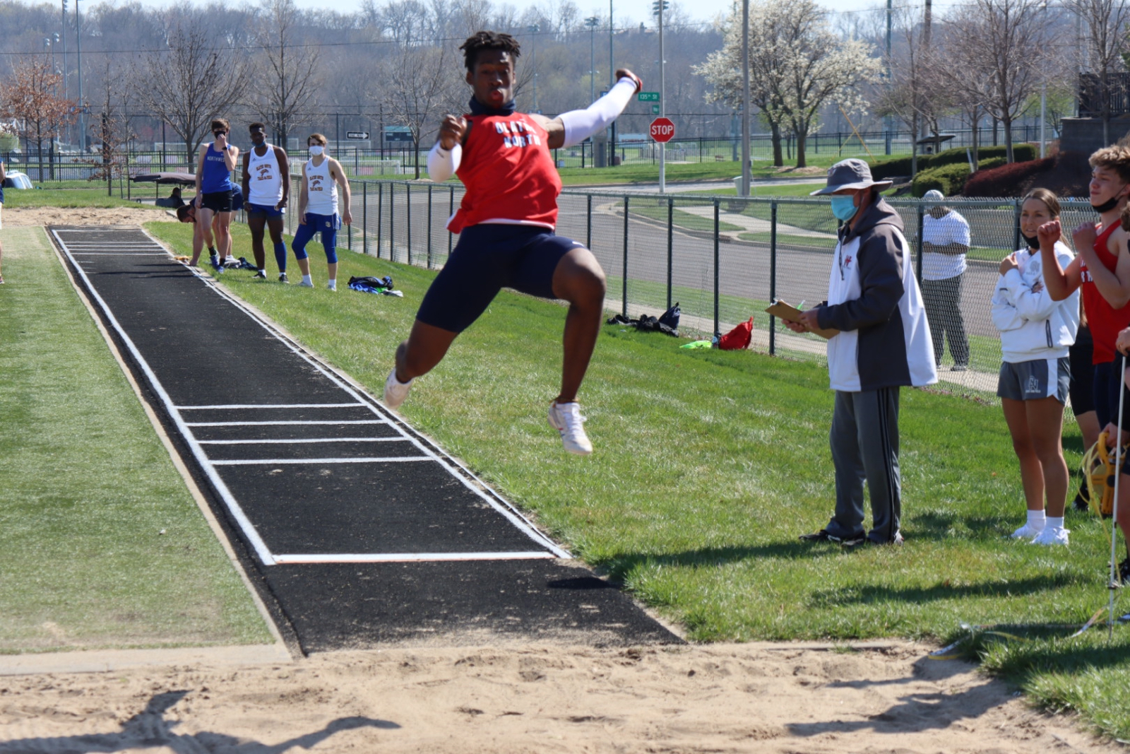 Track & Field Dominates at Varsity and JV Levels