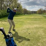 JV Golfers tackle the Sunflower League Invitational
