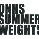 Olathe North Summer Weights Info Posted
