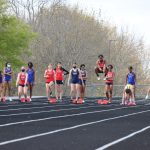 JV Track and Field at Olathe East