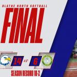 Olathe North Varsity Softball moves to 10-2