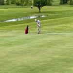 Varsity Golf takes on Hoot's Hollow GC at the Olathe Northwest Invitational