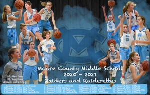 2020-21 Moore County Middle School Basketball Schedule