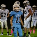 Raiders Honor 8th Graders and Celebrate the Win