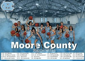2020 – 21 Moore County Raiderettes Schedule