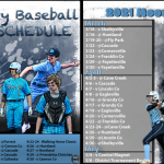2021 Moore County High School Baseball Schedule