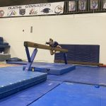 Northwest JV Gymnastics competes in their 1st Meet