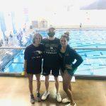 2020 Graduates compete in 1st collegiate swim meet