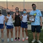 Lady Raven Tennis qualifies 2 entries for State Tournament