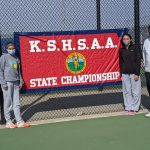 Lady Raven Tennis team finishes 7th at State, capping historic season.