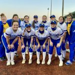 Varsity Softball beats Olathe Northwest 5 – 4 in Season Opener