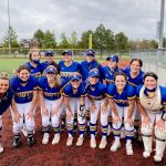 Varsity Softball beats Olathe West 8 – 4