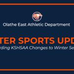 Winter Sports Update Regarding KSHSAA Changes to Winter Season