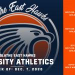 OE Varsity Athletics Schedule for this Week – Week of December 7, 2020