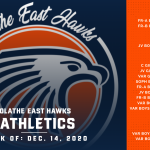 OE Athletics Schedule for this Week – Week of December 14, 2020