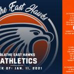 OE Athletics Schedule – Week of January 11, 2021