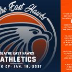 OE Athletics Schedule – Week of January 18, 2021