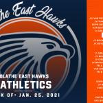 OE Athletics Schedule – Week of January 25, 2021