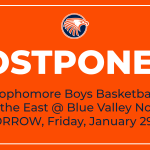 Tomorrow's OE vs BVN Sophomore Boys Basketball Game Postponed (1/29/2021)