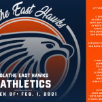 OE Athletics Schedule – Week of February 1, 2021