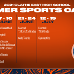 2021 OE Summer Sports Camp Information