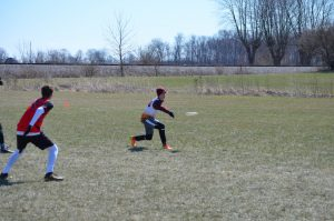 2016-17 Ultimate Frisbee Indiana Warm-Up