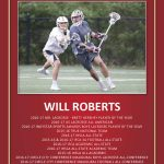 Will Roberts '17 To Be Honored