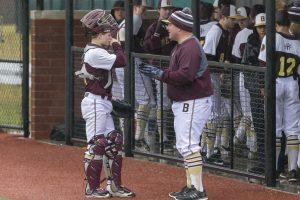 Varsity Baseball vs. Martinsville (3/29/18) (Courtesy of Michael Hoffbauer)