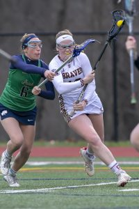 Girls Lacrosse vs Cathedral (4/5/18) (Courtesy of Michael Hoffbauer)
