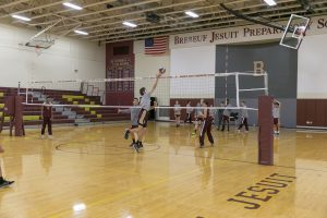 Boys Volleyball vs Ritter (3/28/18) (Courtesy of Michael Hoffbauer)