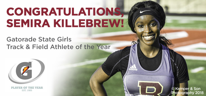 Semira Killebrew Named Gatorade Player of the Year