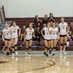 Girls Volleyball vs. Danville (8/11/18) (Courtesy of Michael Hoffbauer)