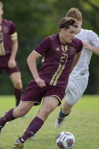 Boys Soccer vs. Tri-West (8/18/18) (Courtesy of Michael Hoffbauer)