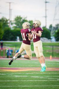 Varsity Football vs. Roncalli (9/21/18) (Courtesy of Liz Dapp)