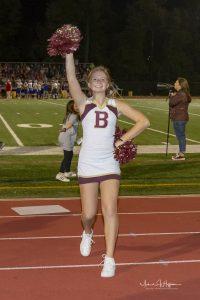 Cheerleading (9/21/18) (Courtesy of Michael Hoffbauer)