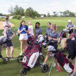 Girls Golf vs. Zionsville (9/11/18) (Courtesy of Michael Hoffbauer)