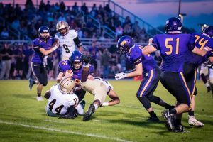 Varsity Football vs. Guerin Catholic (10/5/18) (Courtesy of Liz Dapp)