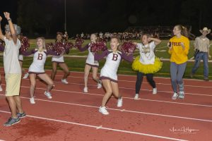 Cheerleading (9/28/18) (Courtesy of Michael Hoffbauer)