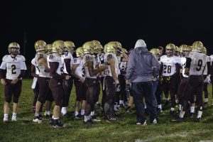 Varsity Football vs. Terre Haute North (10/12/19) (Courtesy of Liz Dapp)