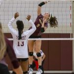 Volleyball vs Lawrence Central (9/26/18) (Courtesy of Michael Hoffbauer)